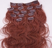 CLIP IN juuksepikendused #33 laines 50cm, 105g REMY
