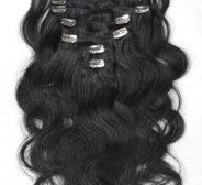 CLIP IN juuksepikendused #1 50cm, 105g REMY laines