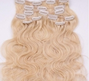 CLIP IN juuksepikendused #613 50cm, 105g REMY laines