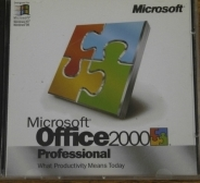 Microsoft Office 2000 Professional 2 CD