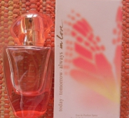 Avon Today Tomorrow Always In Love parfüümvesi 30 ml. Värske, naiselik, lille-puuviljalõhn. Mõned korrad proovitud!