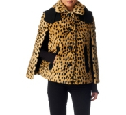 Juicy Couture leopardi karvane jakk S