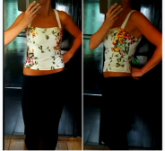 Ted Baker strapped top