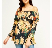 Off-shoulder top, uus