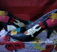 Irregular Choice kingad, mudel Frog Princess,suurus 38