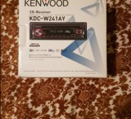 Kenwood automakk CD mängijaga, MP3
