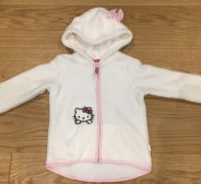 Uus H&M Hello Kitty fliis s. 92-98