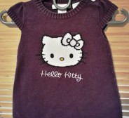 H&M kootud kleit - Hello Kitty s.62/68