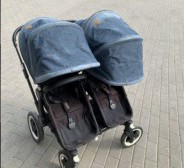 Müüa bugaboo donkey twin DIESEL DENIM edition!
