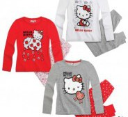 Uus Hello kitty pidzaama  nr 116,128,140