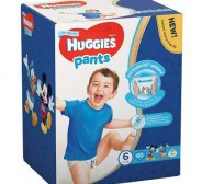 Huggies püksmähkmed Pants 6 Box Boy 15-25kg 60tk