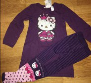 Hello Kitty komplekt 98/104, h19€
