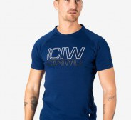 ICIW  Workout Tri-Blend T-Shirt Men - Navy
