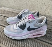 Nike Air Max 90 Essential Pure Platinum/ Dark Grey, suurus 36