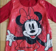 DISNEY MINNIE MOUSE qlitritega pluus 170